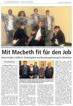 Mit Macbeth fit für den Job