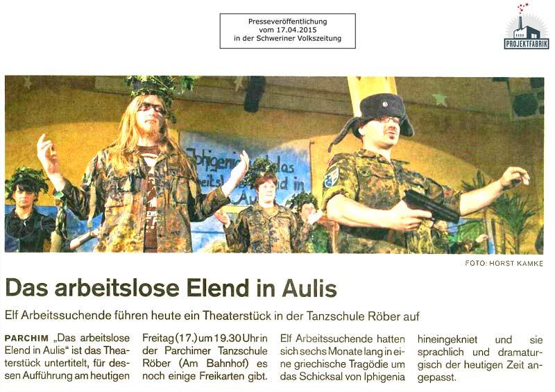 Schweriner Volkszeitung Parchim